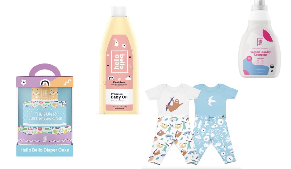 beloved celebrity couple kristen bell and dax shepard have a baby line at walmart called hello bello—check it out!