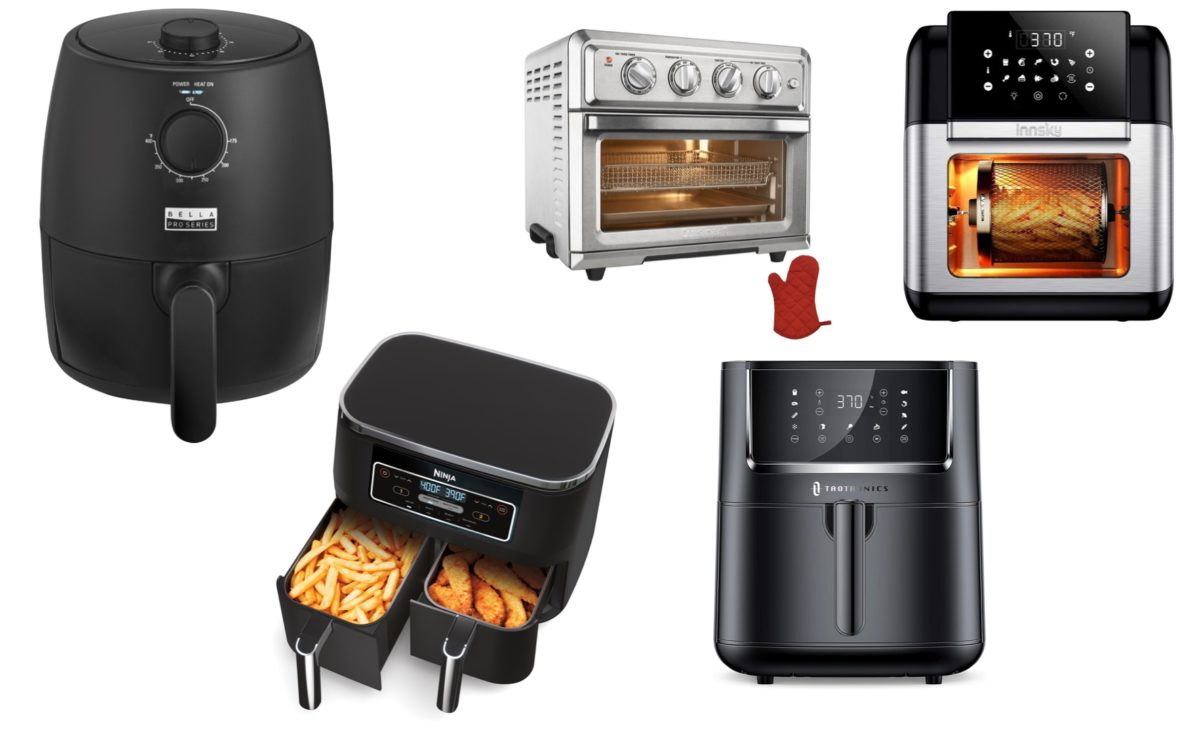 in the market for an air fryer? here are the best 8 you can buy right now