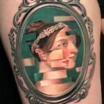 25 Glitch Tattoos That Showcase This Trippy Trend