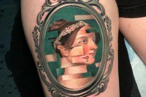 25 glitch tattoos that showcase this emerging, trippy trend