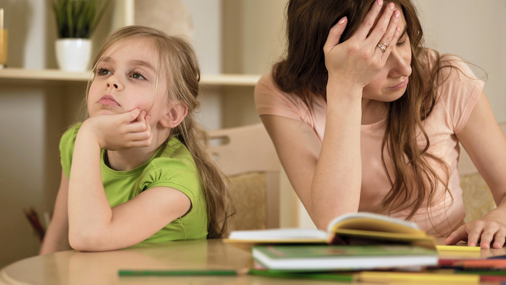 is it ever ok to do your child's schoolwork for them during this era of online learning?