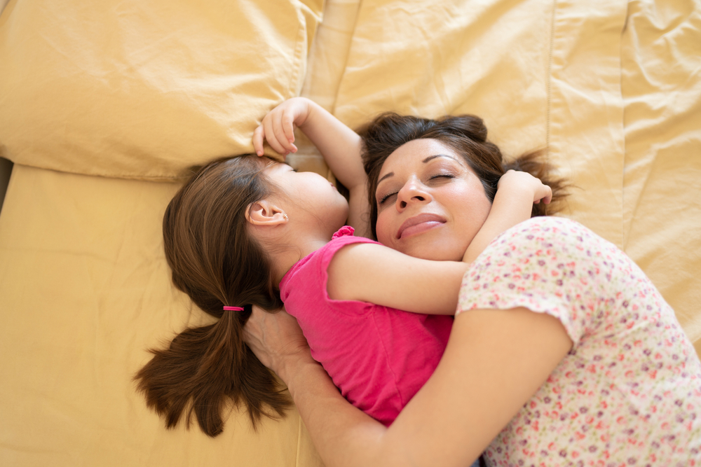how old is too old when it comes to co-sleeping?