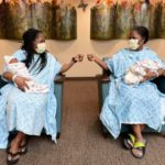 Identical Twin Sisters Miraculously Give Birth At The Same Time