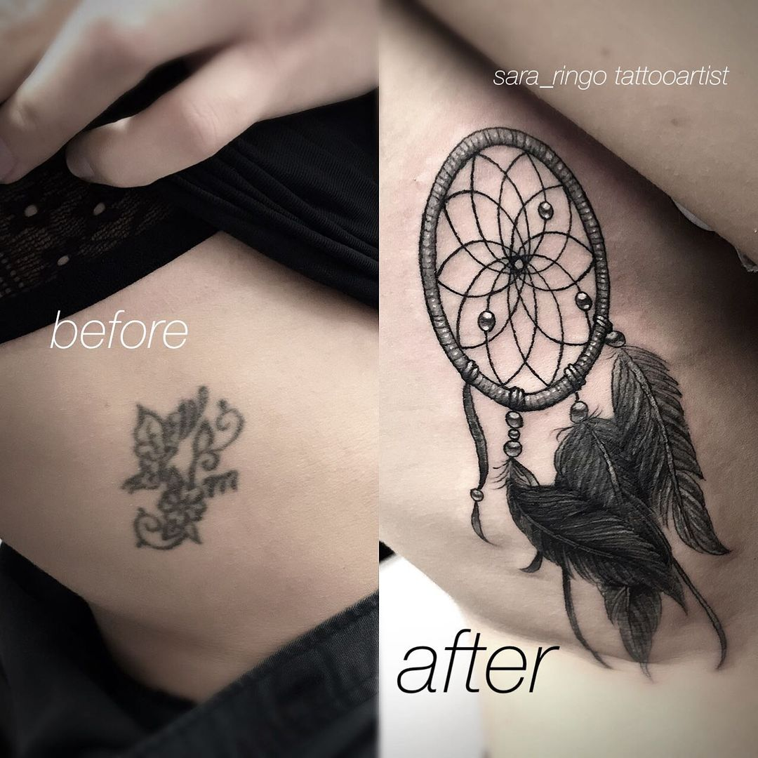 20 Ingenious Tattoo Coverup Ideas That Totally Revive Bad Ink