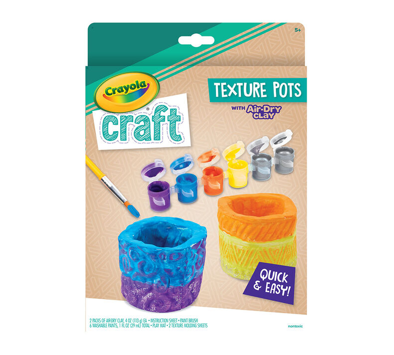 must-haves for parents to help keep their kids busy, entertained, and having fun at home | parenting questions | mamas uncut 57 0191 0 200 craft air dry clay texture pots f r