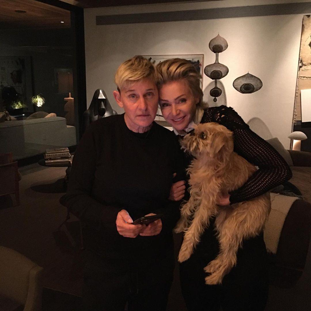 Ellen DeGeneres Says Wife Kept Her Anchored Amid Scandal