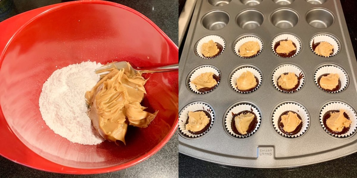 Amy Schumer's Peanut Butter Cup Cookies