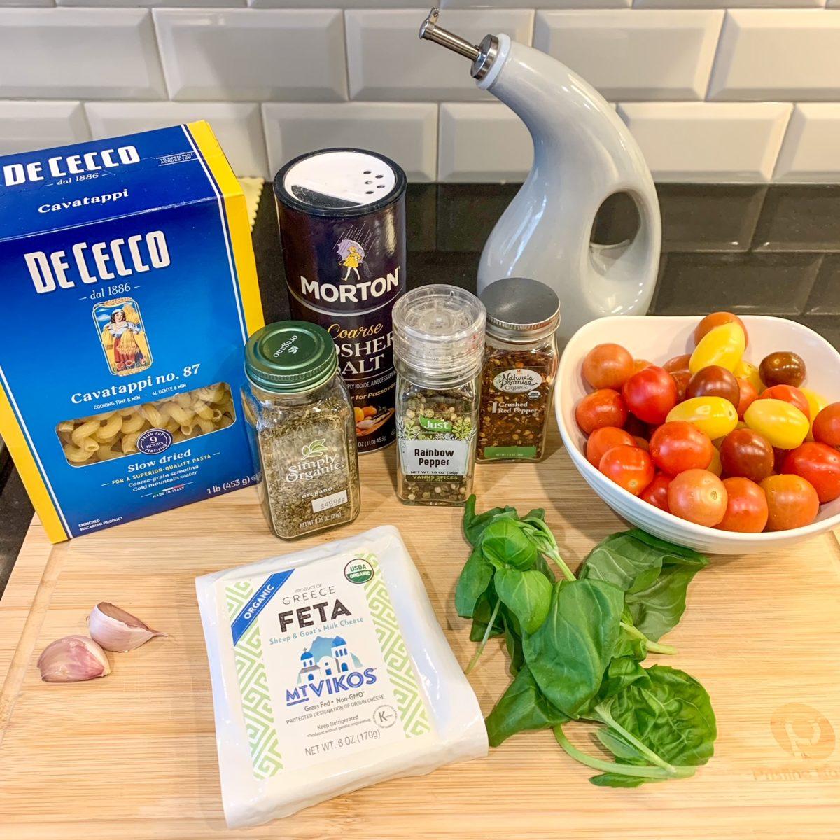 baked feta pasta recipe
