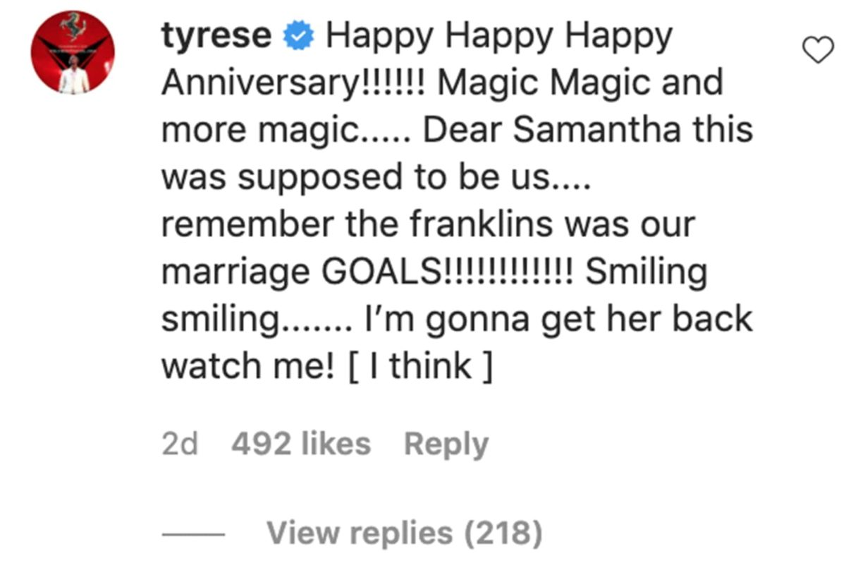 tyrese gibson says he 'thinks' he'll win back estranged wife