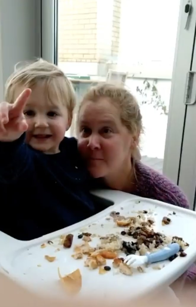amy schumer is asking for advice after losing nanny