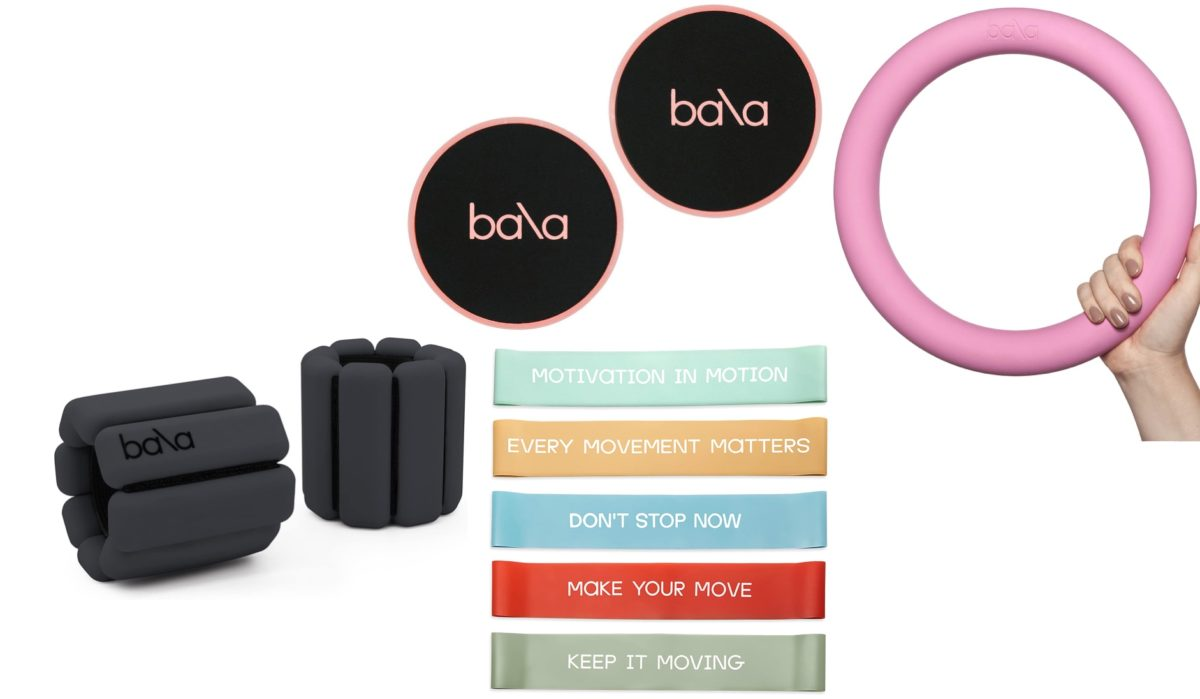 influencers love these ankle weights and three other piece of at-home workout equipment made by the same brand
