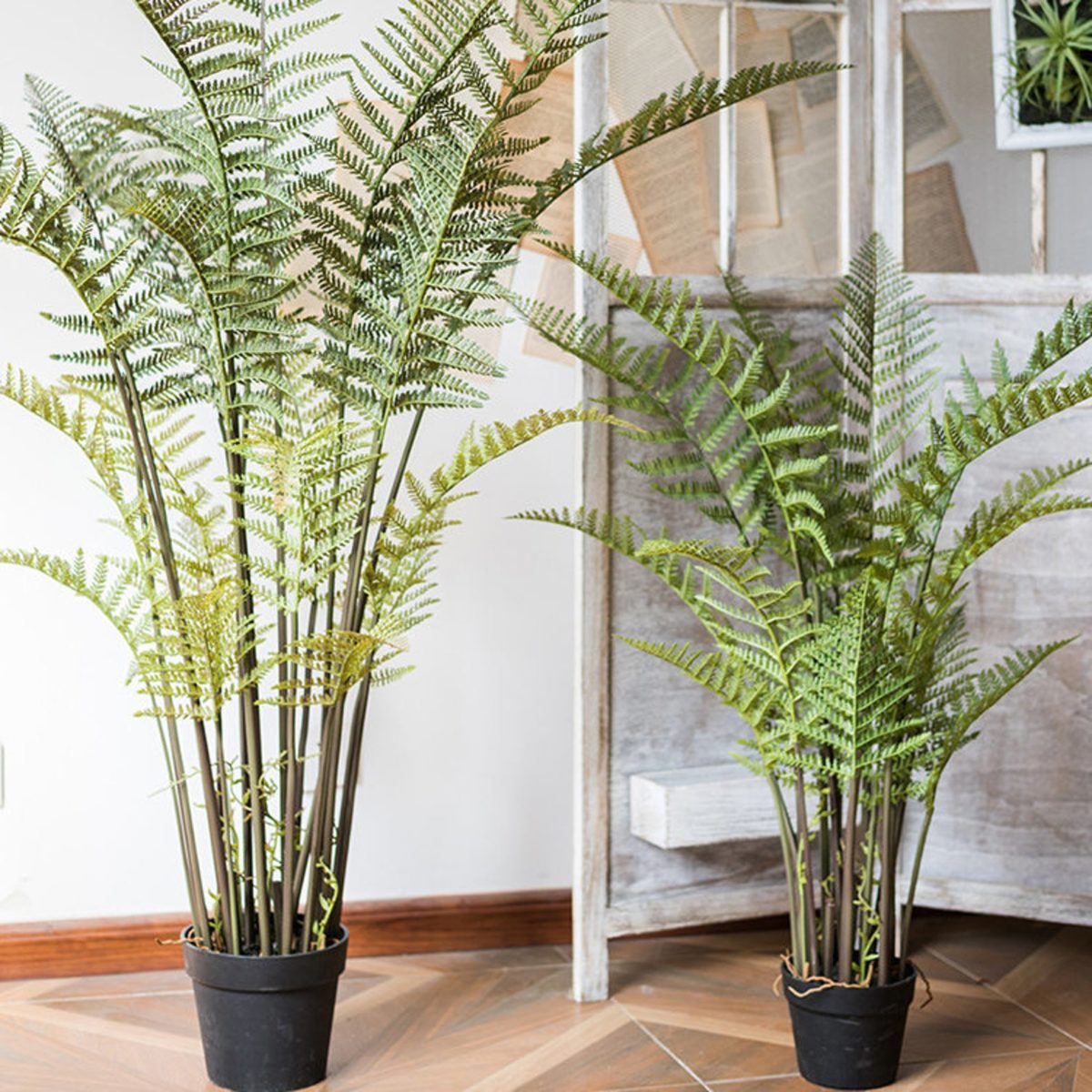 the look of plants without the care, here are 8 of the best fake plants from etsy