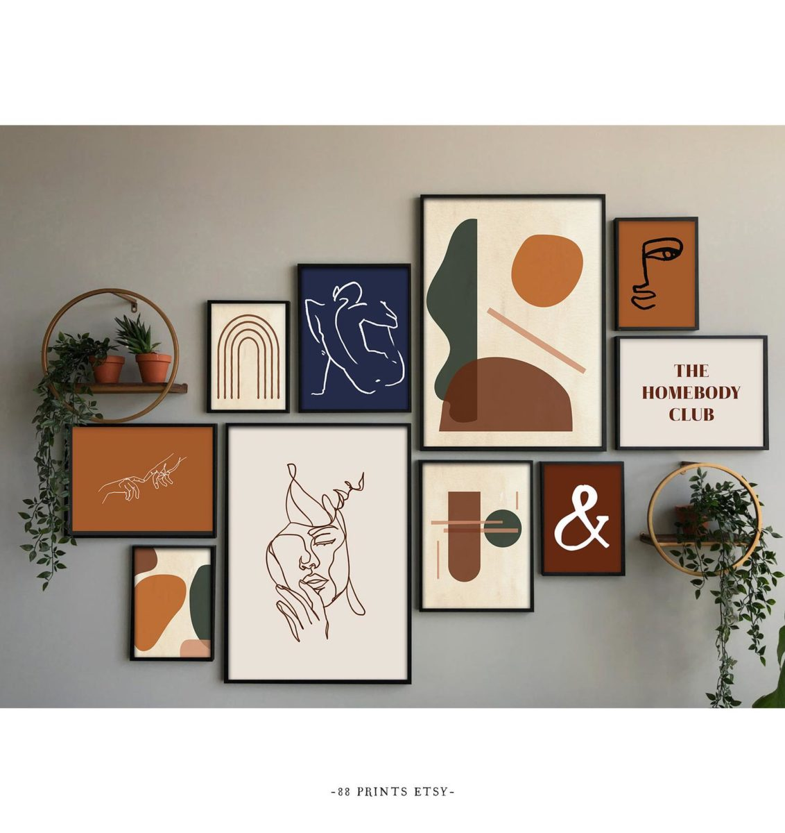 13 pieces of wall art from etsy you're sure to love