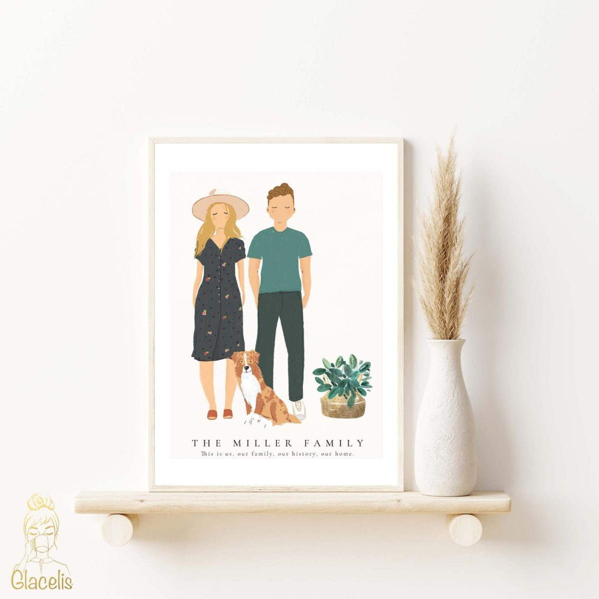 13 pieces of wall art from etsy you're sure to love | sometimes you just need a good piece of artwork to break up all of the family photos.