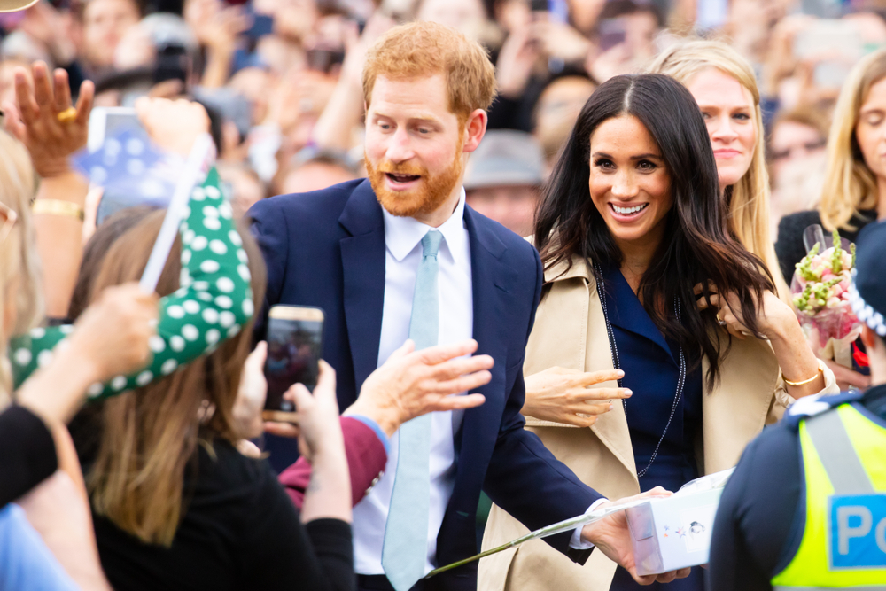 meghan markle & prince harry announce they are expecting baby #2 with heartwarming tribute to diana