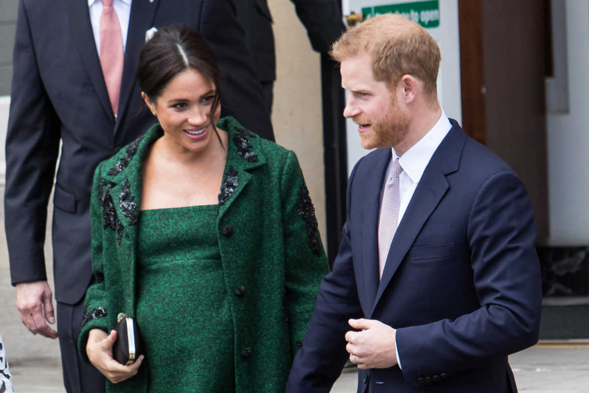 the queen officially revokes harry and meghan markle's roles