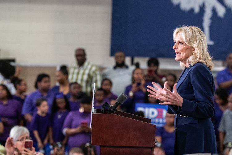 jill biden encourages moms to take time for themselves