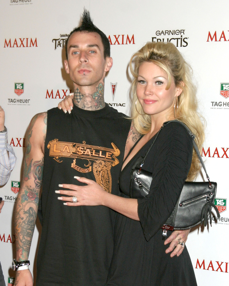 travis barker's ex-wife is shade-feuding with kourtney kardashian online | parenting questions | mamas uncut shutterstock 147149642