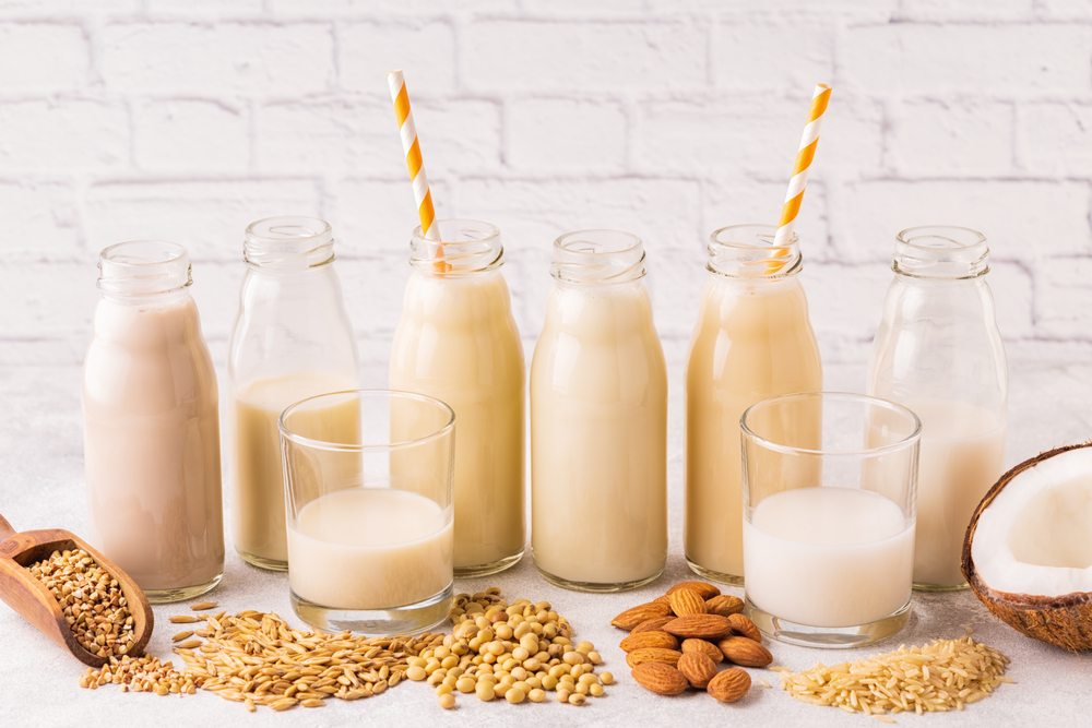 my sister-in-law plans on only feeding her 1-year-old soy or almond milk: advice?