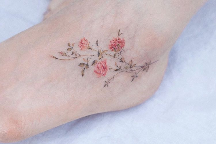 26 foot tattoo ideas for you to consider as we approach peak sandal weather