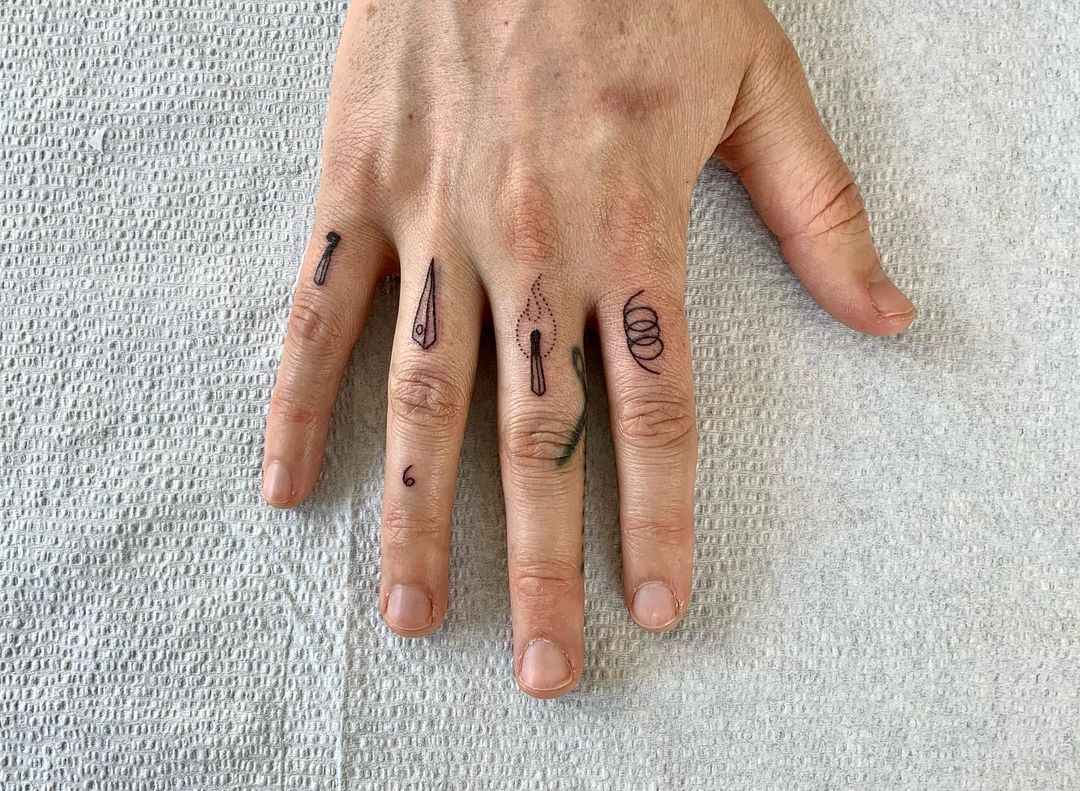 chrissy teigan just got finger tattoos, let's discover more ways to decorate your digits with ink | parenting questions | mamas uncut 162165753 2841170686158024 989346794184402493 n