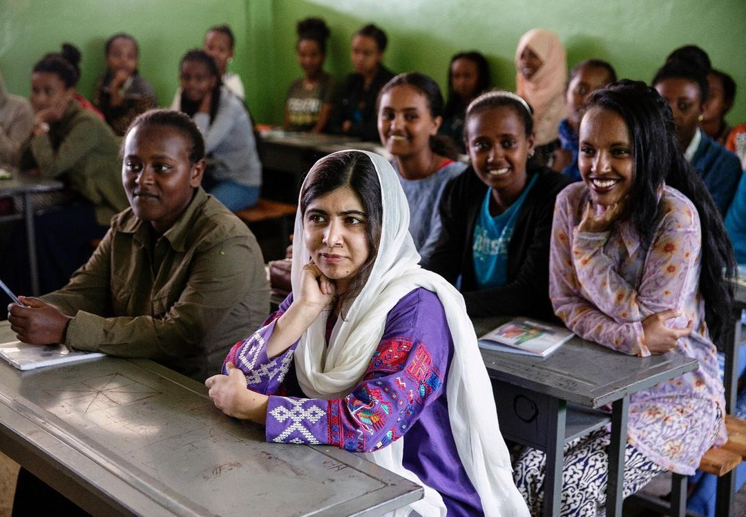 malala yousafzai is creating a new children's series for apple tv+