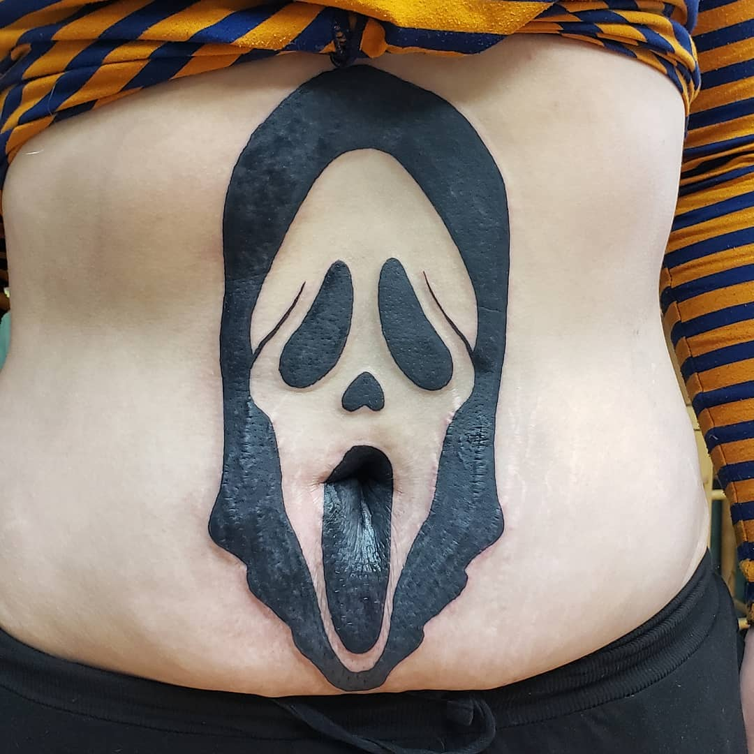 25 funny belly button tattoos to neaten up your navel