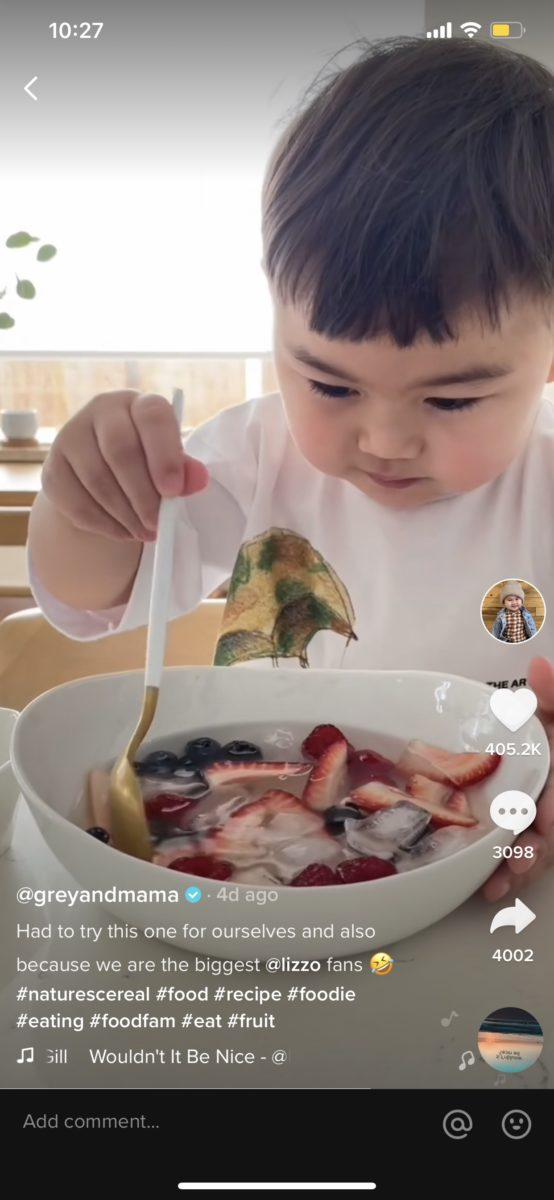 nature's cereal reactions from tiktok