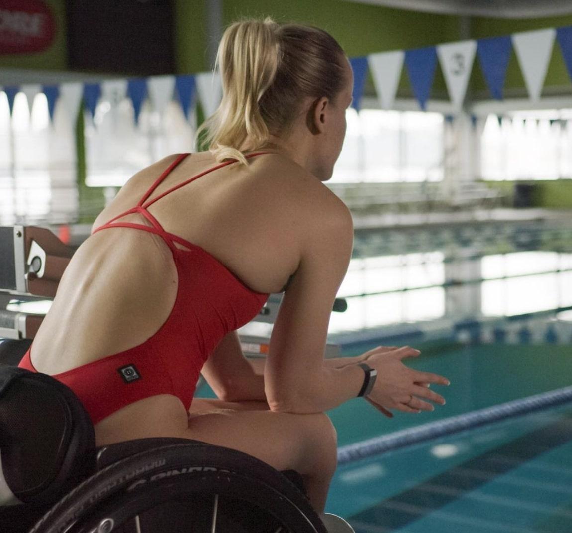 paralympic swimmer recalls moment she felt epidural paralyze