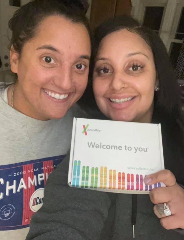 former friends discover they are sisters who were separated