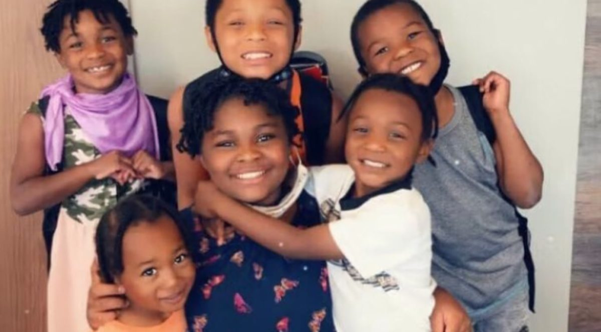 homeless mother reunited with six kids in new apartment