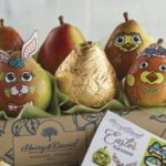 Sick of the Mess That Comes With Color Easter Eggs? These Pears Are a Uniquely Clean and Fun Alternative