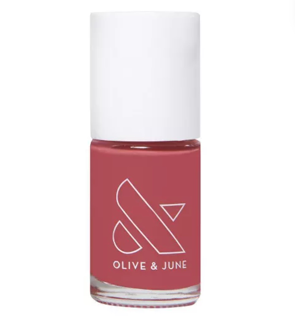"""the best nail polish is now available at target…you won't regret become olive & june fans 