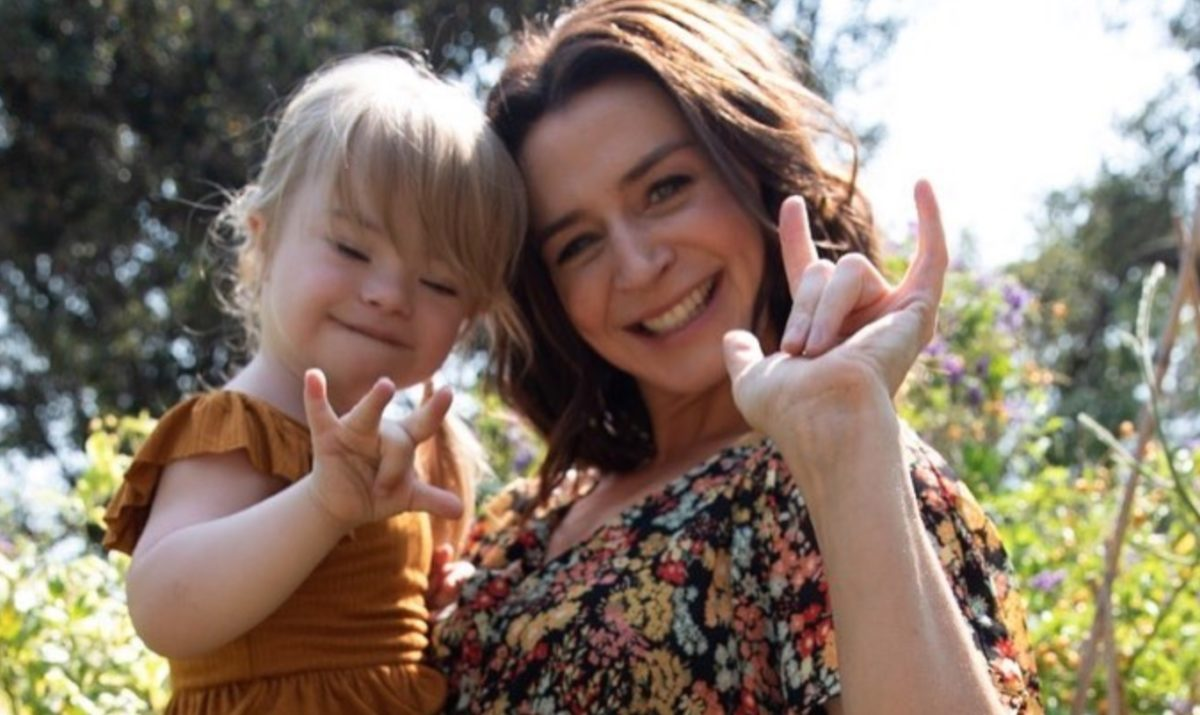 'grey's anatomy' star caterina scorsone shares touching message to daughter in celebration of world down syndrome day