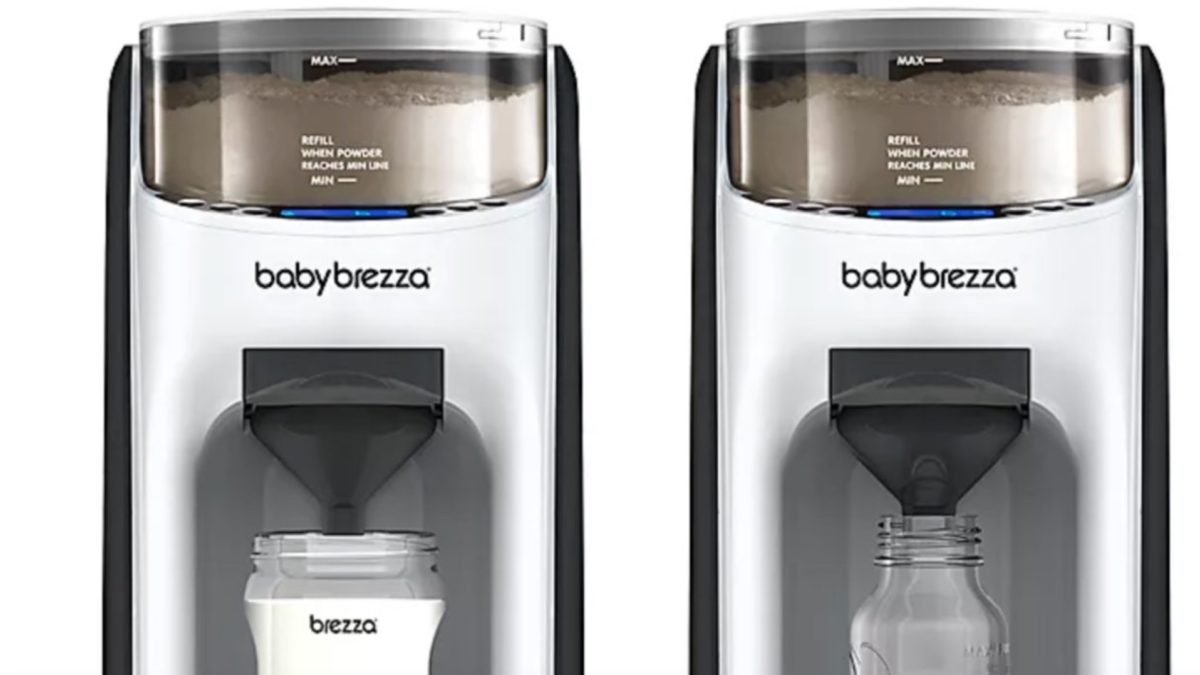 hey mom: you can get an advanced formula dispenser for your baby…how cool is that?
