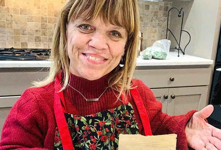 amy roloff shares special messages about moments with her family after a day with her daughter-in-law   amy roloff puts family first always --- even if it is for a brief moment.
