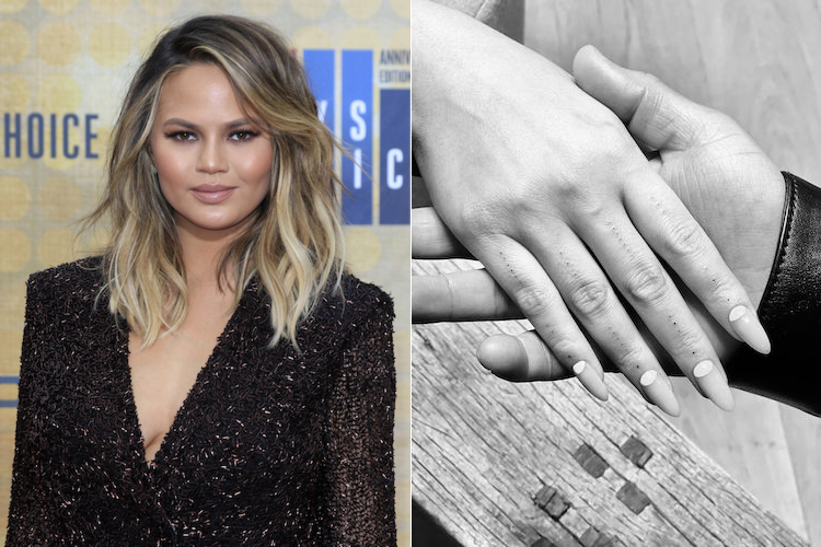 chrissy teigan just got finger tattoos, let's discover more ways to decorate your digits with ink