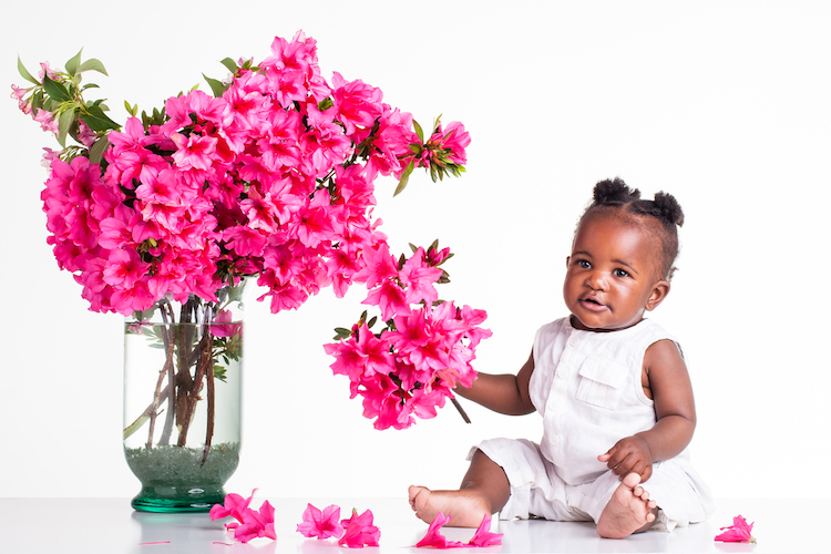 25 trending baby girl names with uplifting meanings