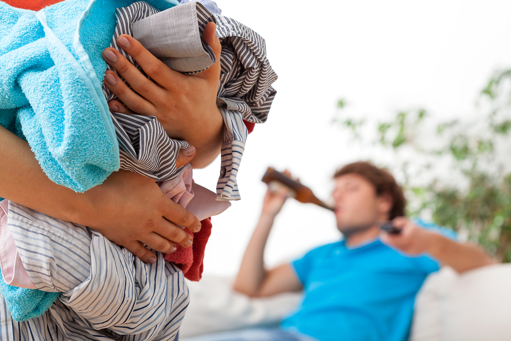 my unemployed husband is never home and says i am controlling for asking him to be home by 9 pm: advice?