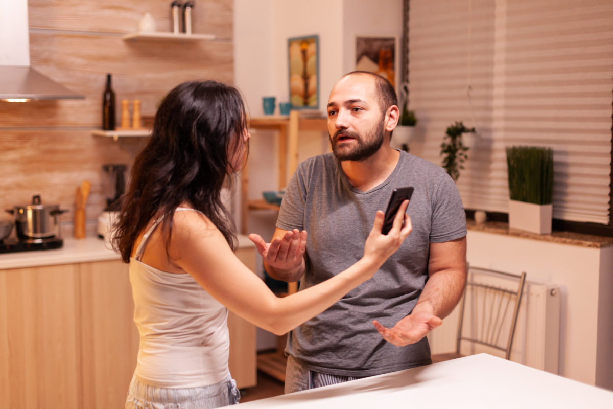 woman forbids husband from meeting their first born