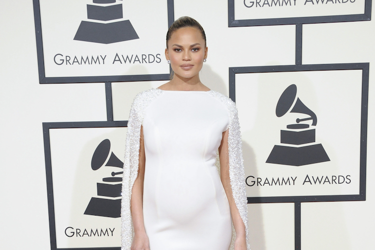 chrissy teigen wants to cancel the outdated term 'geriatric pregnancy' for moms 35+