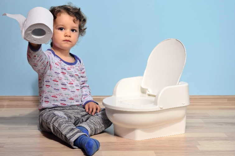 how can i get my daughter to go number two on the potty?