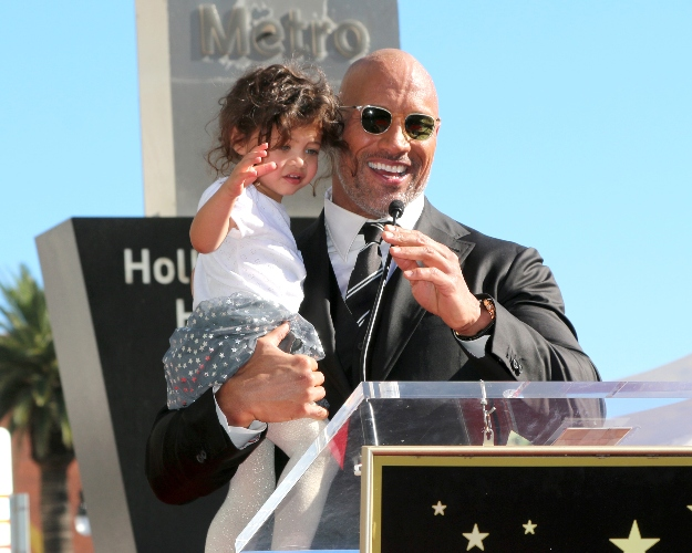 dwayne johnson adores the small moments with 2-year-old