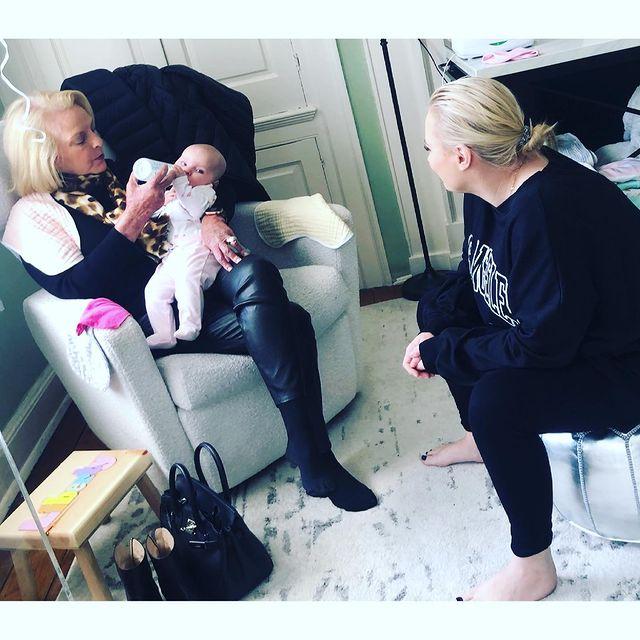 meghan mccain on daughter liberty: 'grandma cindy twin'