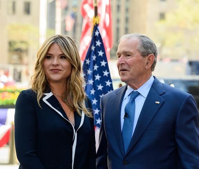 george w bush proud of jenna bush hager being 'a star' on tv