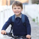 Prince Louis Turns 3! Kate Middleton Shares Rare Photo of Him Riding Bike to First Day of Preschool