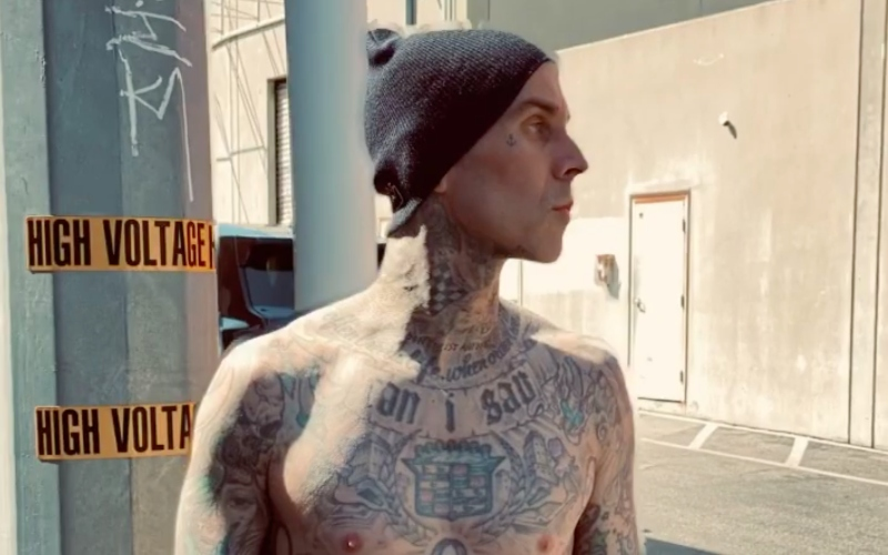 travis barker's daughter uses makeup to cover up tattoos