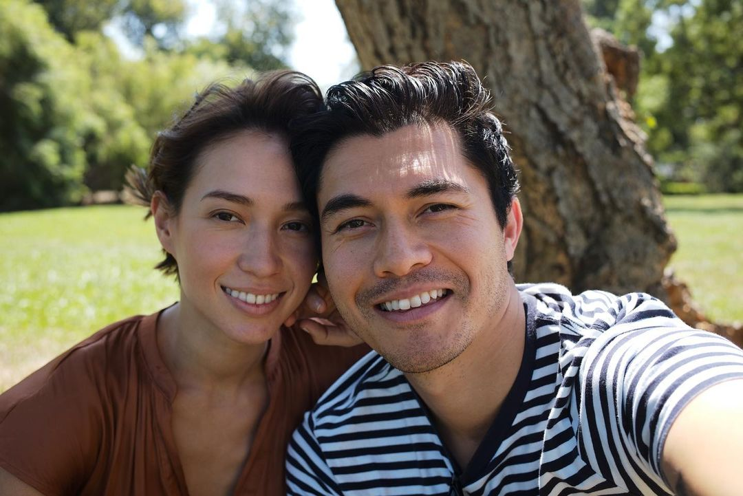 """henry golding and liv lo welcome first baby together & share adorable picture   henry golding and his wife, liv lo, said, """"or lives changed forever"""" after the arrival of their first baby together!"""