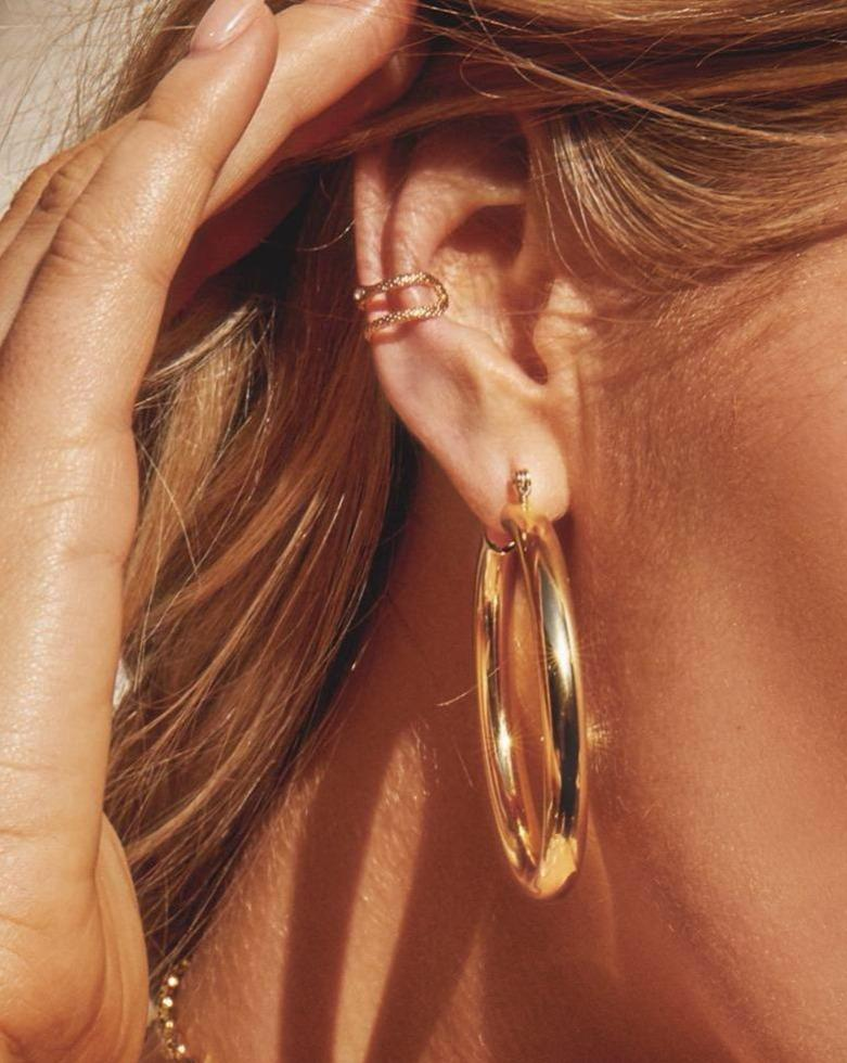 need a hip mother's day gift for a hip mom, then you need to check out bohemian mama | parenting questions | mamas uncut luv aj earrings amalfi tube hoops