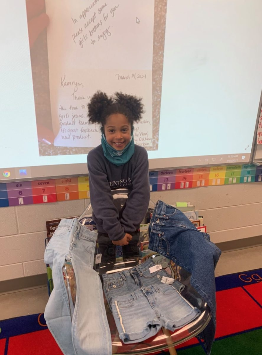 first-grader asks old navy for jeans to have real pockets